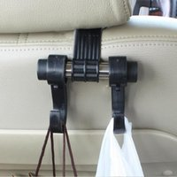Wholesale 1 Car Hanger Auto Bags Organizer Coat Hook Accessories Holder Clothes Hanging Holder Seat Help