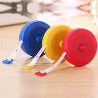 plastic ruler - New Arrivals Retractable Ruler Tape Measure Gauging Tools Dieting Tailor Plastic Cute CM JA23
