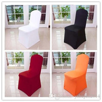 Wholesale 2015 Hot Sale Colors Elastic coverings hotel restaurant banquet wedding ceremony wedding chair cover elastic piece universal