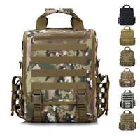 acu laptop backpack - 14 inch Laptop Tactical Backpack ACU Tactical Range Bag Sacheted Tactical Gear Survival SWAT Police Hunting Military Backpacks