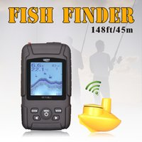 Wholesale LUCKY Waterpoof Russian Wireless Fishfinder Fish finder kHz Frequency Sonar Bottom Contour M Sensor as Fishing Camera