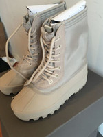 Wholesale Rare Edition Man Shoes Kanye Wesy Boost Peyote Moonrock Boots Real Photos