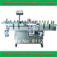 Wholesale Hot melt glue bottle labeling machine automatic label applicator labeller wide range high speed sticking equipment tools packer
