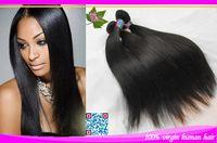 Cheap 7A HOT !!! straight hair weaves human hair for braiding Brazilian Peruvian Indian Malaysian Mongolian Silk base closure 3pcs lot 100g bundle