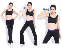 Wholesale Yoga clothes suit vest sports aerobics fitness shorts Yoga Top Women Yoga Sportswear Fitness Clothing Set