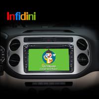Wholesale Android Car DVD player For VW Skoda POLO GOLF PASSAT CC JETTA TIGUAN TOURAN Fabia Caddy GPS Glonass car radio gps player