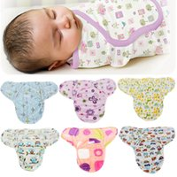 Wholesale Soft Baby Hot Newborn Swaddle Wrap Warm Blanket Baby Infant Flannel Sleeping Bag M