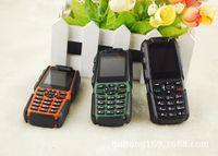 Wholesale Phone XP5500 Flashlight Shockproof Dustproof Dual SIM GSM Huge Battery mAh PowerBattery mAh Power Bank Russian Keyboard MINI