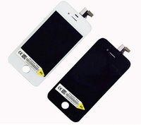 Wholesale AAA Black White LCD for iPhone S Touch Screen No Dead Pixel Digitizer Display Assembly with frame