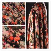 baby pants export - Embossed cotton silk fabric exports cross dress pants rayon fabric baby linen Han Xiang thick fabrics