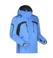 Wholesale NEW style brand winter outdoor sports men s skiing jackets amp coats waterproof Snowboard ski suit Warm ski clothing thermal