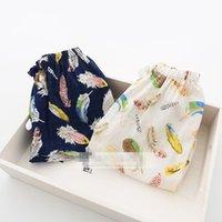 2015 short habits neufs enfants de filles pour le coton d'été imprimé plumes lâche pantalons sarouel short enfants bloomers croisées hot pants 2 couleurs V126