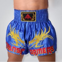 Wholesale Pro MMA Fight MMA short shorts Muay Thai kick boxing gel cage pants pants Sanda boxing sport pants