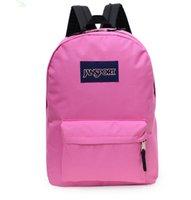 Wholesale Big Discount Jansport Schoolbag Superbreak Black Classic Backpack Campus Leisure Polyester Waterproof Bag L Book Bags