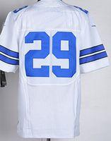 thanksgiving - New Elite Jerseys Jersey Size Dark Blue White Thanksgiving Stitched Mix Match Order American Football JERSEY