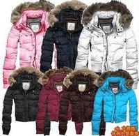 Cheap Women downwear Best Hooded Short down jacket