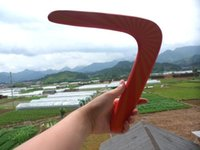 12-24M boomerang - Wooden toys boomerang dart flew to implement boomerang V dart Composite wood orange g outdoor equipment toys for children outdoor sports