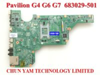 Wholesale laptop motherboard for HP Pavilion G4 G6 G7 G4 G6 G7 Notebook systemboard Tested
