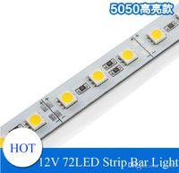 Wholesale Super Bright Hard Rigid Bar light DC12V cm led SMD Aluminum Alloy PCB Led Strip light For Cabinet Jewelry Display LED lighting