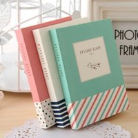 Wholesale Planners Organizers Paper Products creative stationery cute little fresh color pages thick notebook diary book