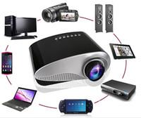 achat en gros de cartes haute-2015 Le projecteur peu coûteux coloré bon marché de projecteur / 3d de carte / projecteur de téléphone portable la résolution androide 480 * 320 de haute qualité