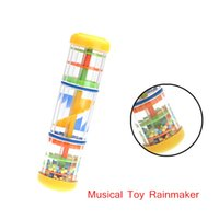 Wholesale Music Toy Instrument quot Rainmaker Tube Shaker Good Gift for Toddler Kids Games Entertainment for KTV Party