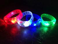 Cheap LED voice control bracelet Best Voice control bracelet