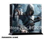 achat en gros de assassins xbox croyance-Peinture / autocollant protecteur vinyle autocollant pour console PS4 + 2 contrôleurs-Assassins Creed-0025 Autres accessoires Autres accessoires bon marché