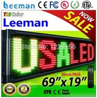 led moving message - Leeman led moving message display sign
