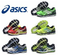 athletic shoes for men - New Colors Asics Nimbus Running Shoes For Men Lightweight Top Quality Cushion Breathable Athletic Sport Sneakers Eur Size