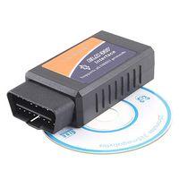 Wholesale ELM327 Bluetooth Interface OBD Car On Board Diagnostics Scanner Tool Support Multi brands Car Self Diagnostic