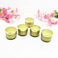 Wholesale Gold shape JA31 ml small plastic jars small plastic containers g small cosmetic containers acrylic