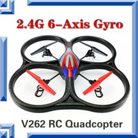 ar drone rc - WL V262 Ghz Axis Big RC Quad copter with Gyro RTF UFO CH AR Drone Remote Control Helicopter with Lights