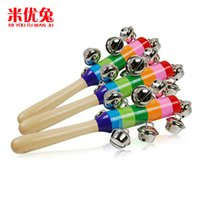 Wholesale Colorful rainbow bell bell factory Orff puzzle educational instrument word bell