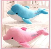 plush sea animals - 2015 Children Girls Sea World Plush Stuff Animal Toys Kids Girl dolphin Stuffed Animals Plus Toy dolphin Dolls Animals Doll D3750