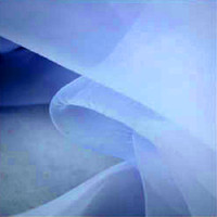 Wholesale 5 yard White Soft Voile Organza Tulle Fabric For Wedding Bridal Dress Cloth Skirt Home Decoration Veil Curtain Sunshade Prom Fabric