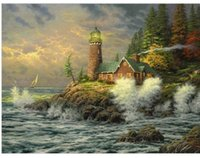 best acrylic paints - The Best Pictures DIY Digital Oil Painting Acrylic Paint By Numbers Unique Gift Home Decoration x50cm Stormy Sea D161