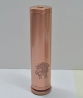 Cheap Red Copper Pegasus Mod Electronic cigarette 1:1 Mechanical Mod Clone Steampunk Manhattan Nemesis King V2 Mod Electronic Cigarettes