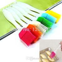 Wholesale 1pc silicone Brush high temperature resistant silicone brush baking tools bbq brush oil brush cooking tools T1118 W0 SYSR
