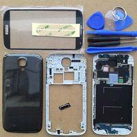 att cover - Full Housing Case Cover Screen Glass For Samsung Galaxy S4 ATT I337 M919 Black