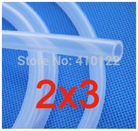 Wholesale 2x3mm Transparent Silicone Rubber Tube Silicone Hose Garden Hose Reels