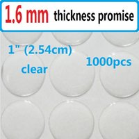 Wholesale 1000pcs quot clear epoxy adhesive circle stickers bubble dots D effect imported material freeshipping