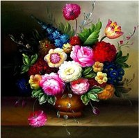 bell paintings - FBH030401 Alan bell type d cross stitch with European paintings vase sitting room of the new thread