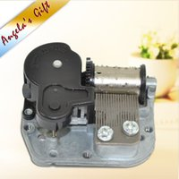 Wholesale DIY music box mechanism Note wind up clockwork musical box movement christmas gifts Angela s gifts
