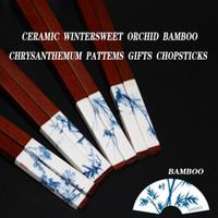 bamboo environmentally friendly - Chinese high end fashion bamboos environmentally friendly wooden chopsticks chopsticks rejoiced gift box