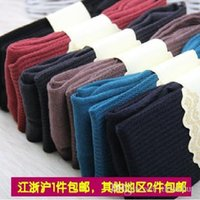 Wholesale 2013 autumn and winter wool cashmere twist women s thermal legging pantyhose step foot socks50 freeshipping