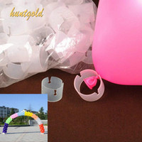 balloon connectors - Hot Arch Balloon Connectors Clip Ring Buckle For Wedding Birthday Decorations