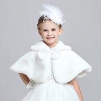 belted puff coat - Children Girls Capes Baby Girl Shawl Waistcoat Girls Fur Cloak Baby Cloak Shawls Cloak Qiu Dong Small Coat