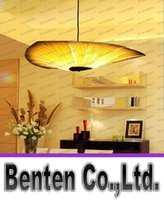 bamboo veneers - Bamboo Living Room Lights Restaurant Lamp Chinese Style Wooden Lamps Veneer Dining Room Lights LLFA1065