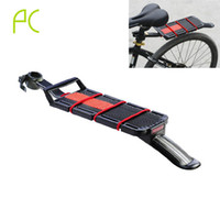 aluminum roof installation - icycle Accessories Bicycle Racks Aluminum Alloy Bike Rack Rear Mountain MTB Bicycle Rack Quick Removal Installation Carrier Rack With Fen